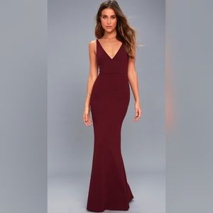 Lulu's Melora Plum Purple Sleeveless Maxi Dress